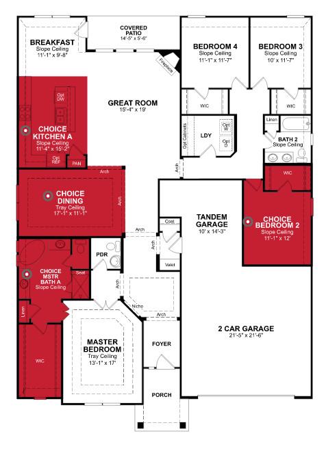 Beazer homes blakely plan floor plan friday marr team for Beazer homes floor plans