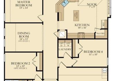 Bluebonnet by Lennar Homes Floor Plan Friday Marr Team at REMAX – Lennar Homes Floor Plans