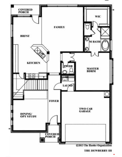 Dewberry by Bloomfield Homes Floor Plan Friday Marr Team at RE – Bloomfield Homes Floor Plans