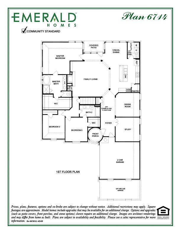 Emerald Homes 3714 Rus 60 S Floor Plan