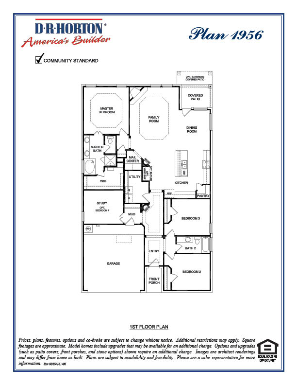 Avery by DR Horton - Floor Plan Friday