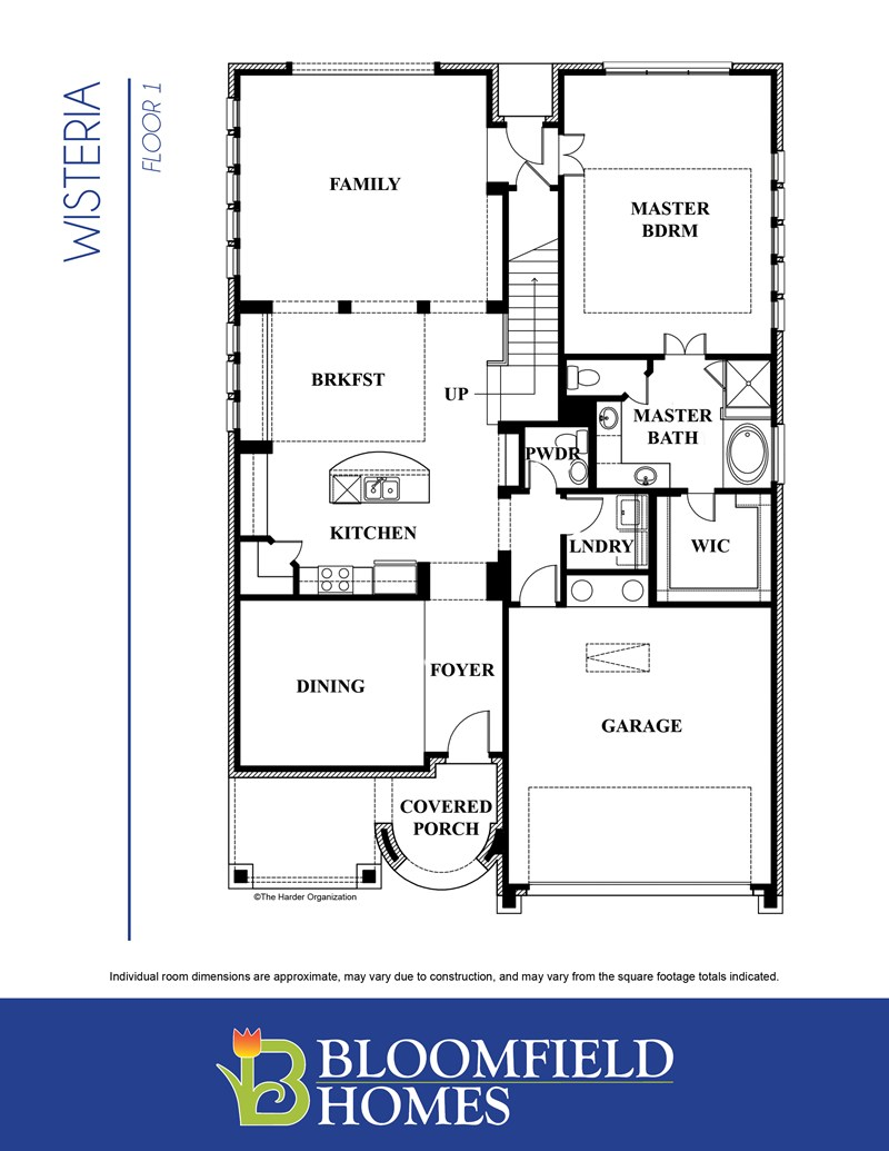 Wisteria by Bloomfield Homes Floor Plan Friday Marr Team at RE – Bloomfield Homes Floor Plans