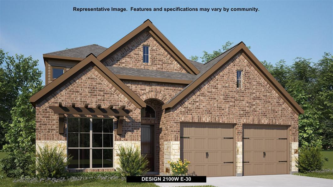 Design 2100W By Perry Homes