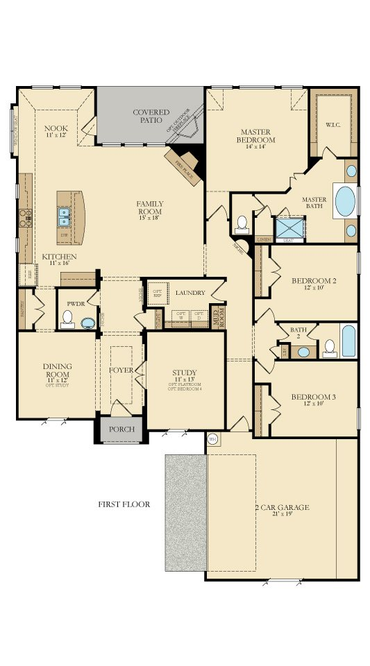 McKinley by Lennar Floor Plan Friday Marr Team at REMAX Prestige – Lennar Homes Floor Plans