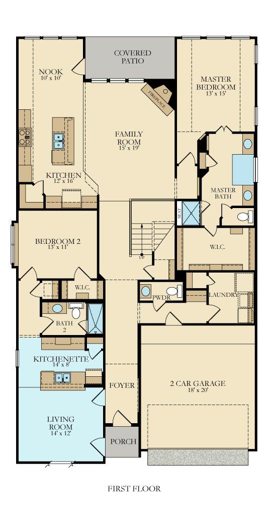 Village Builders - Floor Plan Friday